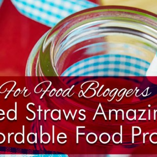Striped Straws | Amazing and Affordable Photography Props For Bloggers