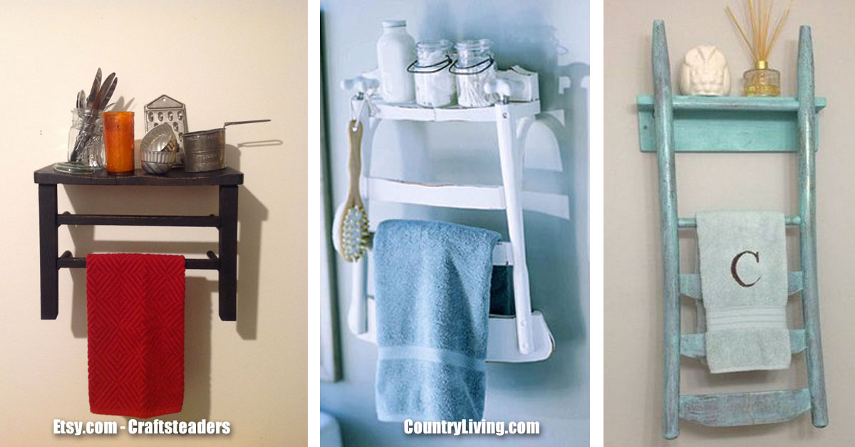 Old Fashioned Chairs - Bathroom Shelves