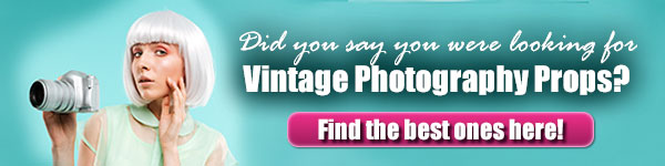 Vintage Photography Props For Sale
