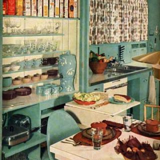 Vintage 1950s Kitchen House Beautiful