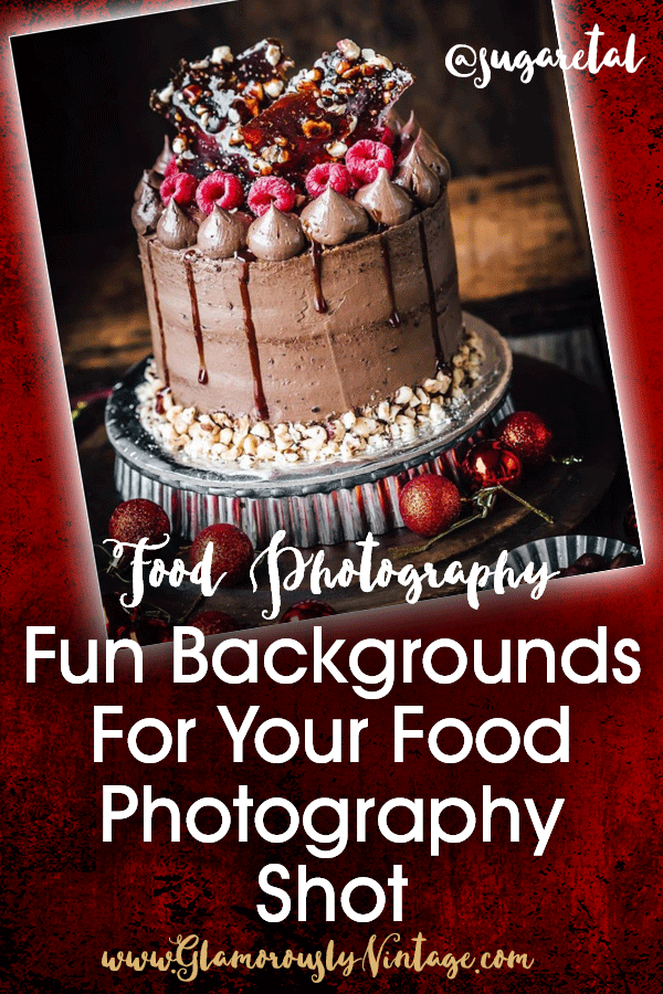 Fun Backgrounds For Your Food Photography Shot... I LOVE seeing all the different backgrounds that food photographers use for getting just the right food photography shot! There are almost 18,000,000 #foodphotography pictures on Instagram right now and some obviously look better than others.